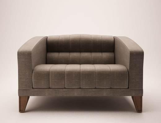 美式沙发, 沙发, 美式简约