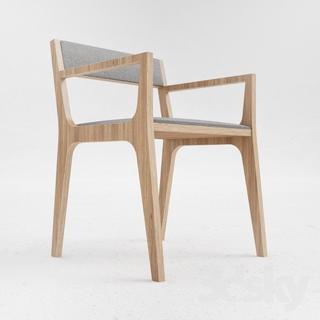 现代椅子, 椅子, 实木, 现代简约