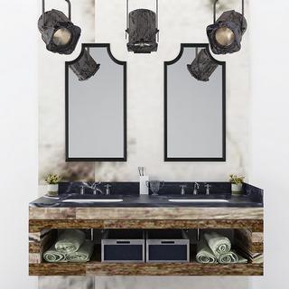 射灯, 组合, 洗手台, 现代简约