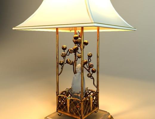 中式台灯, 台灯, 中式
