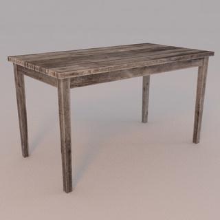 木桌, 桌子, 工业风格