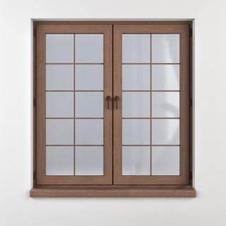 窗户, 木纹, 中式
