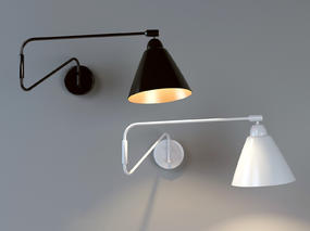 壁灯, 台灯