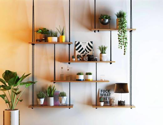 植物, 盆栽, 盆栽植物, 置物架, 植物架