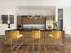 现代, 吧台椅, 厨房