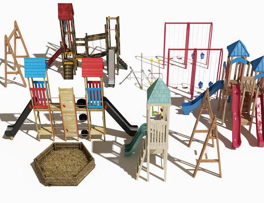 儿童玩具, 游乐, 游乐设施, 现代