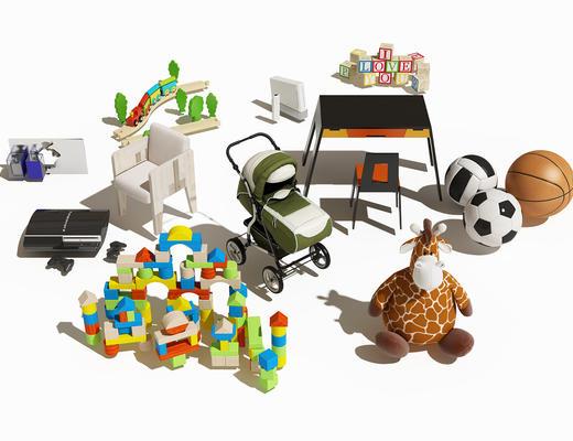 儿童玩具, 儿童车, 婴儿车, 玩具