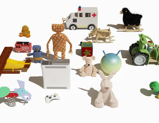 儿童玩具, 玩具, 玩偶, 公仔, 现代