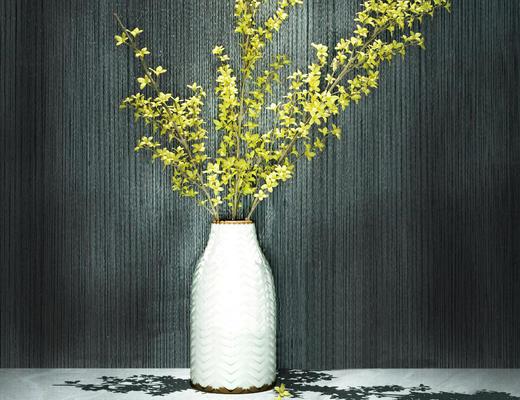 摆设品, 花卉, 花瓶, 现代简约